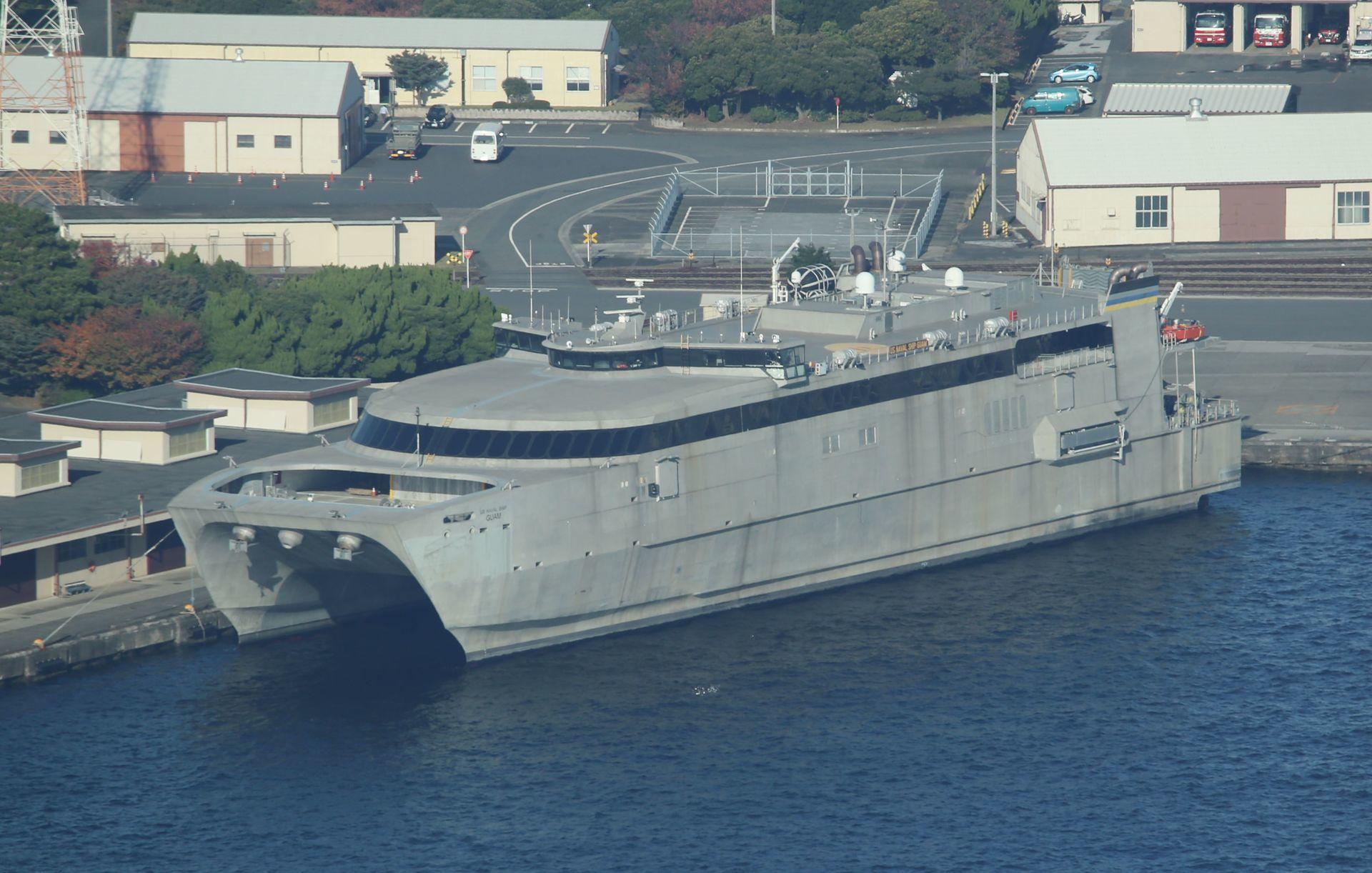 米軍高速輸送船 『グアム』: ISOKKO PHOTO WAREHOUSE
